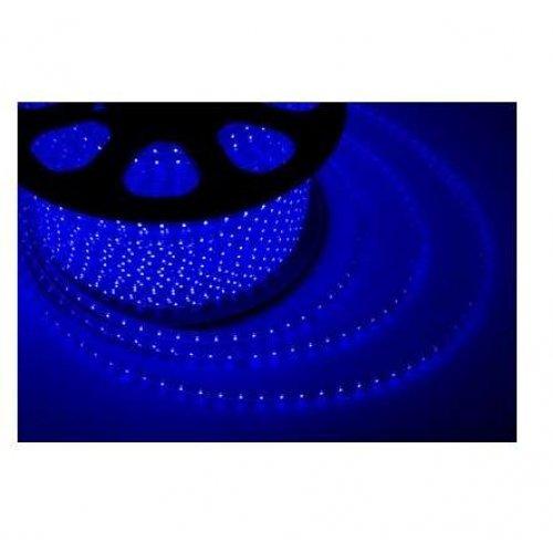 Лента светодиодная SMD5050 13х8мм 60LED/м 14.4Вт/м 220В IP65 син. (уп.100м) Neon-Night 142-103