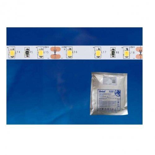 Лента светодиодная ULS-2835-60LED/м-8мм-IP20-DC24Вт-6Вт/м-5M-W (уп.5м) Uniel UL-00002970