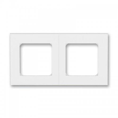 Рамка Levit 2п бел./ледяной ABB 2CHH015020A6001