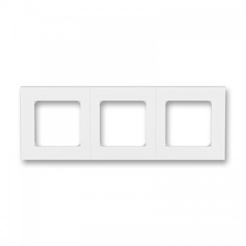 Рамка Levit 3п бел./ледяной ABB 2CHH015030A6001
