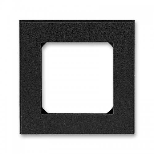 Рамка Levit 1п антрацит/дым. черн. ABB 2CHH015010A6063