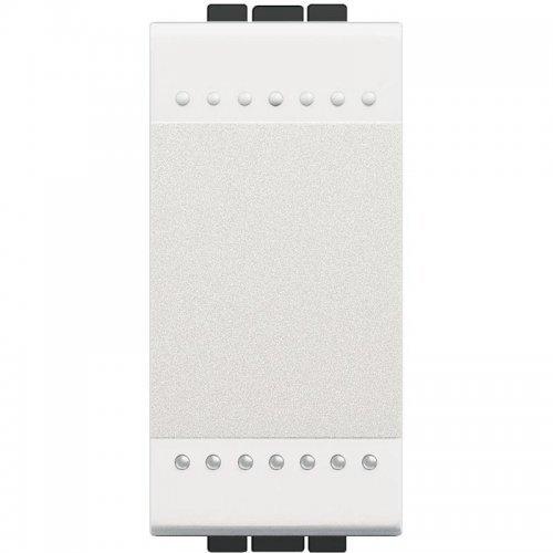 Выключатель 1-кл. 1мод. СП 16А IP20 LivingLight винт. клеммы размер бел. Leg BTC N4001N