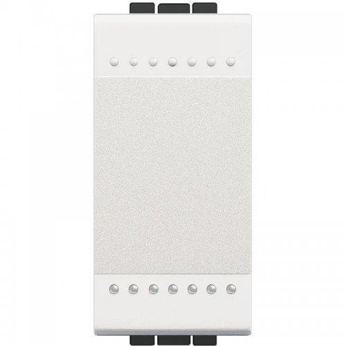 Выключатель 1-кл. 1мод. СП 16А IP20 LivingLight с авт. клеммы размер бел. Leg BTC N4001A