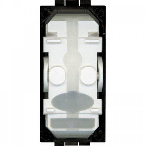 Выключатель 1-кл. 1мод. СП 16А IP20 LivingLight с авт. клеммы размер клавиши Leg BTC LN4001A