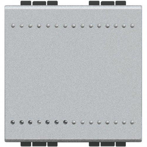 Выключатель 1-кл. 2мод. СП 16А IP20 LivingLight винт. клеммы размер алюм. Leg BTC NT4001M2N
