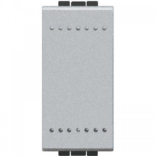 Выключатель 1-кл. 1мод. СП 16А IP20 LivingLight винт. клеммы размер алюм. Leg BTC NT4001N