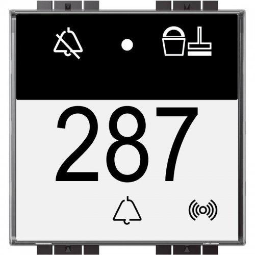 Считыватель ключей-карт MyHome SCS Livinglight бесконтактный для отелей с инд. DND-MUR BTC Leg LN4651