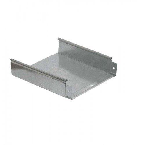 Лоток листовой неперфорированный 400х50 L3000 сталь 1.2мм ИЭК CLN10-050-400-120-3