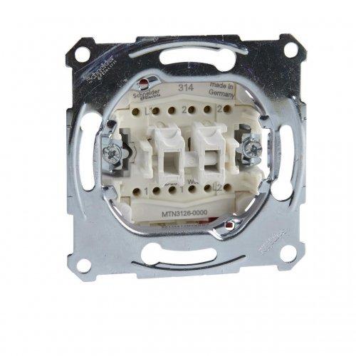 Механизм переключателя 2-кл. СП Merten Antique 10А SchE MTN3126-0000