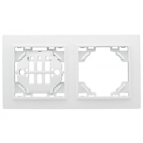 Рамка 2-м Минск горизонтальная бел. Basic EKF ERM-G-302-10