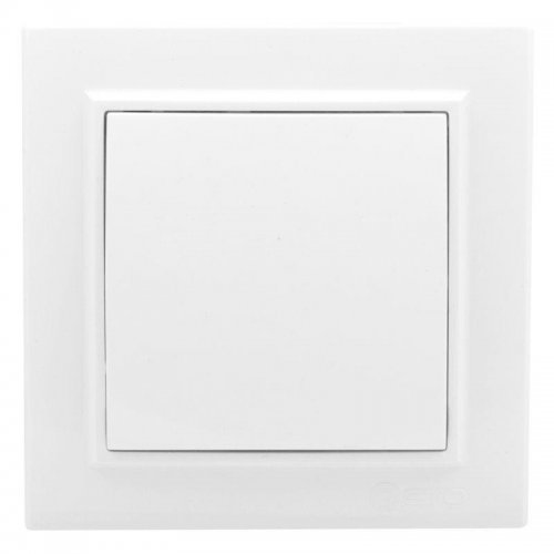 Выключатель 1-кл. СП Минск 10А бел. Basic EKF ERV10-021-10