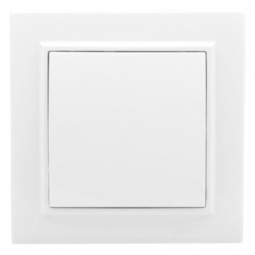 Кнопка нажимная СП Минск 10А белый EKF ERV10-028-10