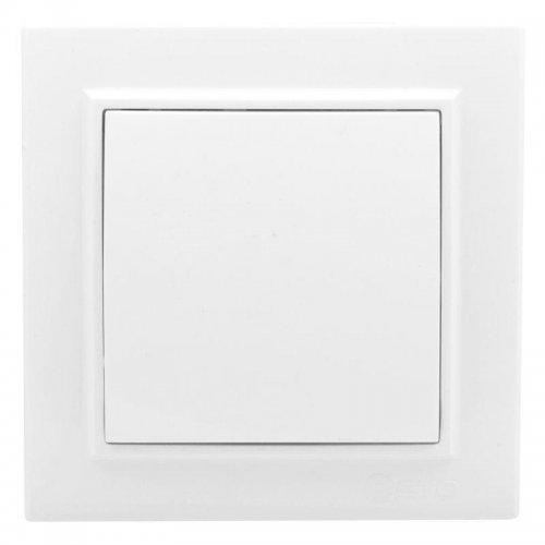 Выключатель 1-кл. СП Минск 10А проходной бел. Basic EKF ERV10-025-10