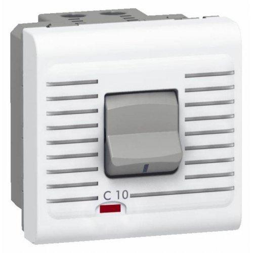 Выключатель автоматический модульный (1P+N) Mosaic Leg 077521