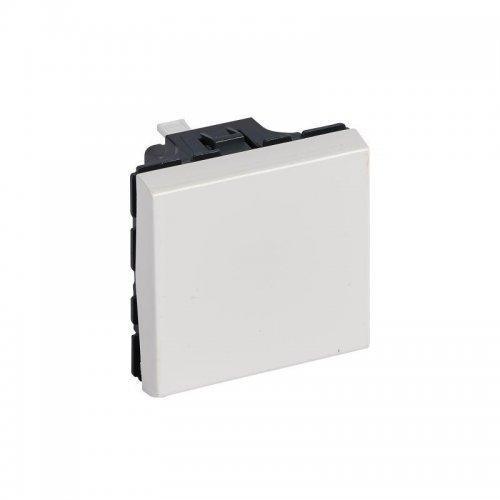 Механизм выключателя кноп. 2-м СП Mosaic NEW 6А бел. Leg 077040