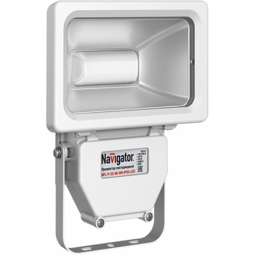 Светильник Navigator 94 612 NFL-P-20-4K-WH-IP65-LED
