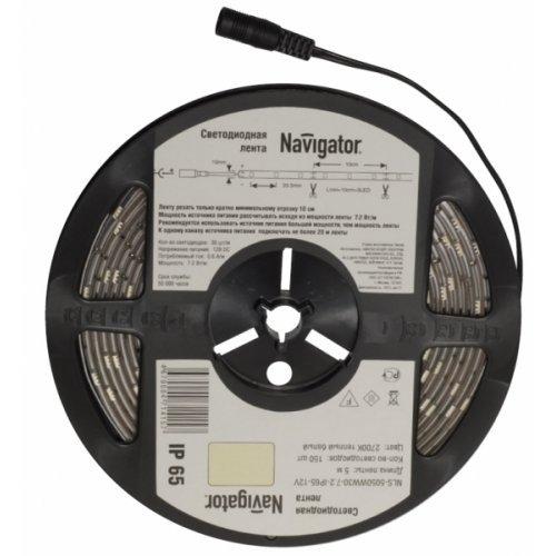 СД Лента Navigator 71 419 NLS-5050G30-7.2-IP65-12V R5