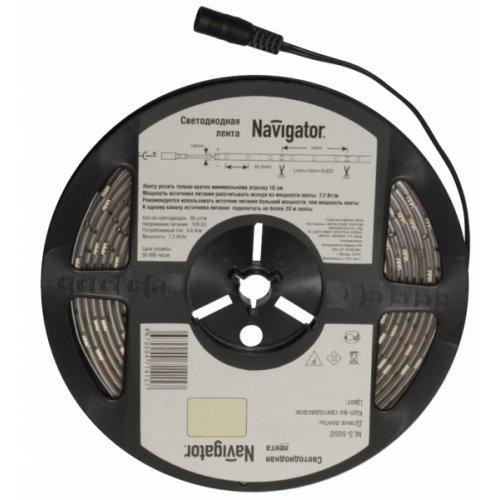 СД Лента Navigator 71 413 NLS-5050W30-7.2-IP65-12V R5