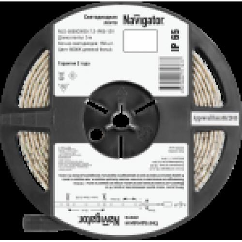 СД Лента Navigator 71 767 NLS-5050СW30-7.2-IP65-12V R5