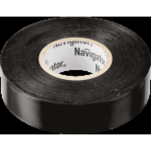Изолента Navigator 71 103 NIT-B15-20/BL чёрная