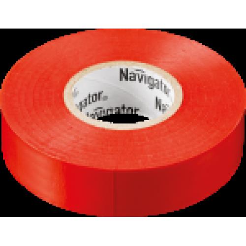 Изолента Navigator 71 104 NIT-B15-20/R красная