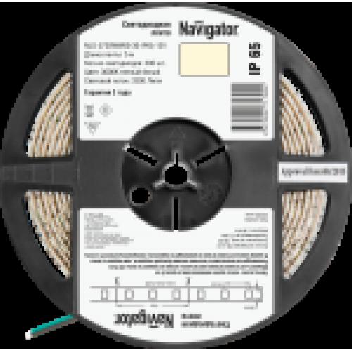 СД Лента Navigator 71 700 NLS-5730WW60-30-IP65-12V R5