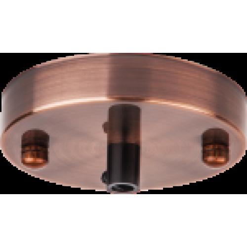 База потолочная Navigator 61 735 NFA-CR01-006 метал. черненая медь