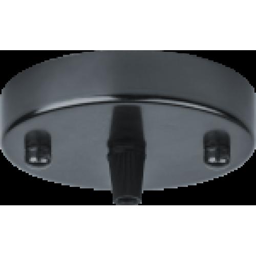 База потолочная Navigator 61 736 NFA-CR01-008 метал. черный матовый