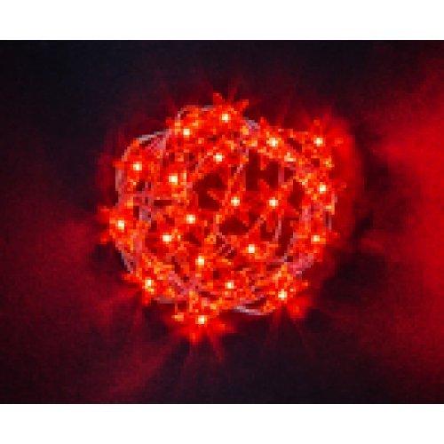 Гирлянда Navigator 14 051 NGF-DM003-20R-2AA-красные звёздочки