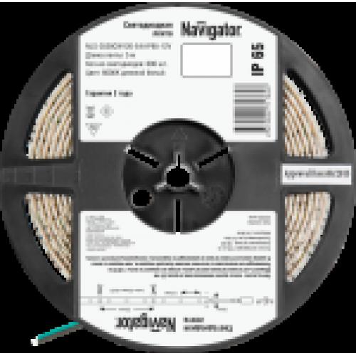 СД Лента Navigator 71 765 NLS-3528СW120-9.6-IP65-12V R5