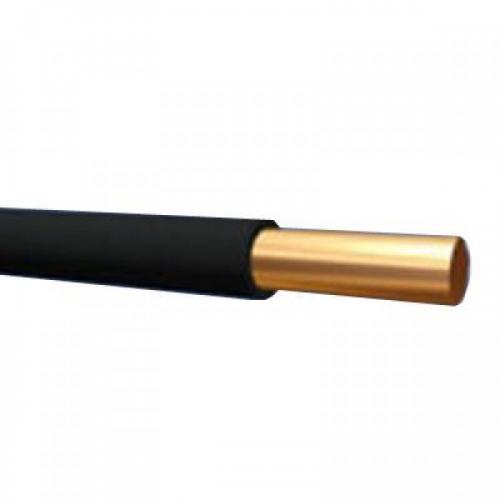 Провод силовой ПуВ 1х6 черный ТРТС однопроволочный