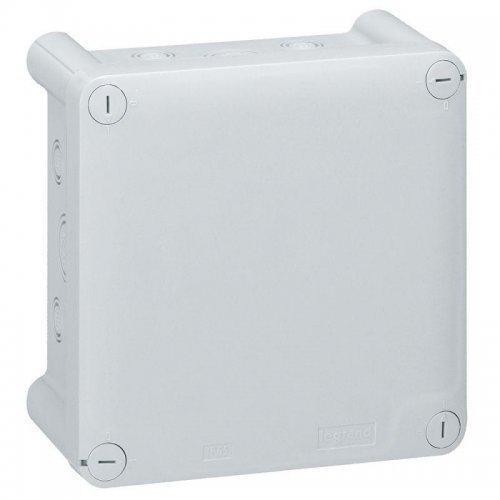 Коробка распр. 130х130х74 без мембр. для упл. каб. вводов Plexo Leg 092034