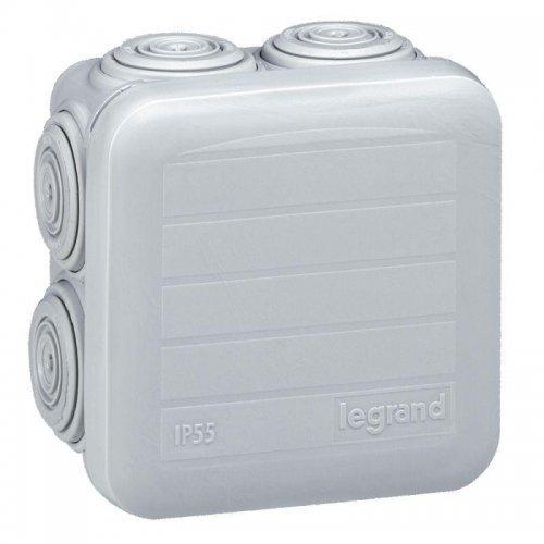 Коробка распр. 65х65х40мм Plexo Leg 092005