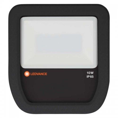 Прожектор светодиодный FLOODLIGHT ДО 10Вт 3000К 800Лм IP65 черн. LEDVANCE 4058075097360