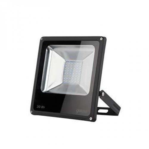 Прожектор LED 30Вт IP65 6500К черн. GAUSS 613100330