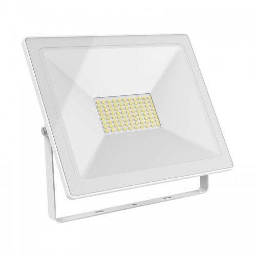 Прожектор светодиодный Elementary 100Вт 7000лм IP65 6500К бел. Gauss 613120300