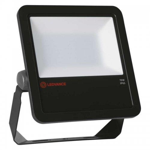 Прожектор светодиодный FLOODLIGHT PHOTOCELL SENSOR 70 70Вт 4000К IP65 с датчиком черн. BK LEDVANCE 4058075251335