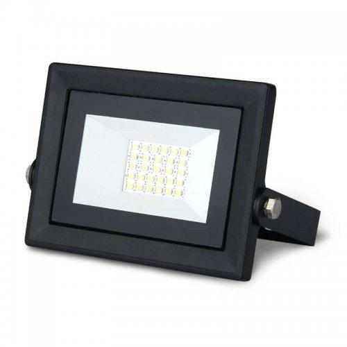 Прожектор светодиодный Led Qplus 20Вт IP65 6500К черн. Gauss 613511320