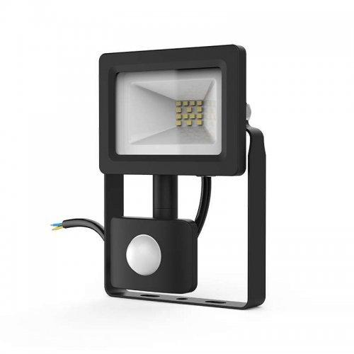 Прожектор светодиодный Elementary 10Вт 700лм IP65 6500К с датчиком движения Gauss 628511310