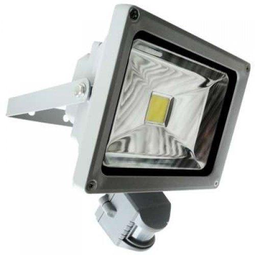 Прожектор OSF30-08-C-01 LED 30Вт IP66 5500К с датчиком движ. Новый Свет 240042