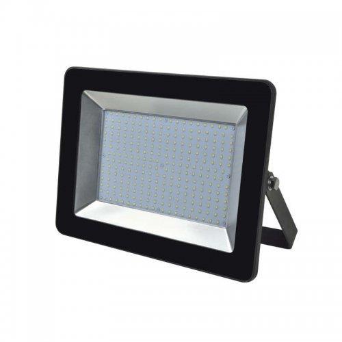 Прожектор светодиодный ULF-F18-100W/WW IP65 200-240В BLACK бел. свет 4000К корпус черн. Uniel UL-00003315