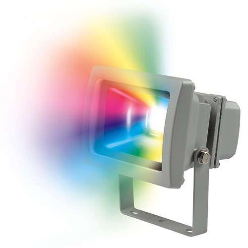 Прожектор ULF-S01-10W/RGB/RC LED 10Вт IP65 картон Uniel 07467