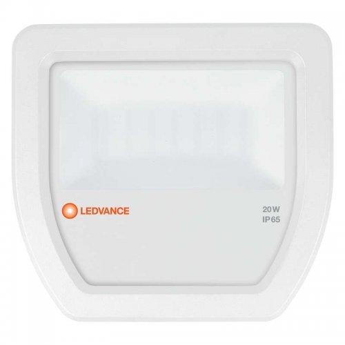 Прожектор светодиодный FLOODLIGHT ДО 20Вт 4000К 2200Лм IP65 бел. LEDVANCE 4058075097506