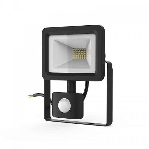Прожектор светодиодный Elementary 20Вт 1380лм IP65 6500К с датчиком движения Gauss 628511320