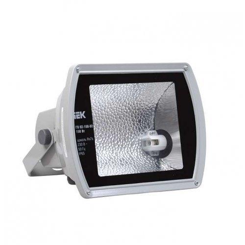 Прожектор ГО02-150-02 150Вт Rx7s металлогалог. сер. асимметр. IP65 ИЭК LPHO02-150-02-K03