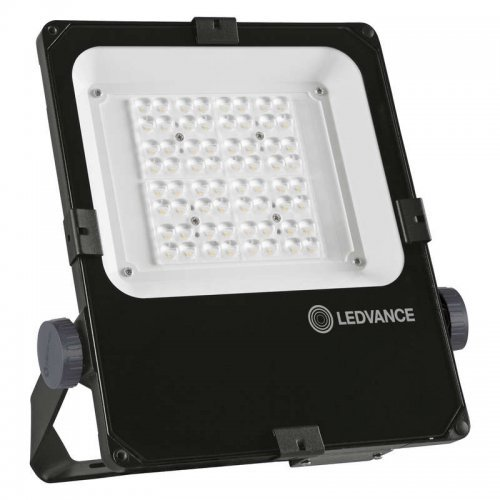 Прожектор светодиодный FLOODLIGHT PERFORMANCE ASYM 45x140 50Вт 3000К 5700лм IP65 асимметр. черн. BK LEDVANCE 4058075353619