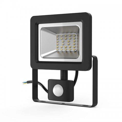Прожектор светодиодный Elementary 30Вт 2100лм IP65 6500К с датчиком движения Gauss 628511330
