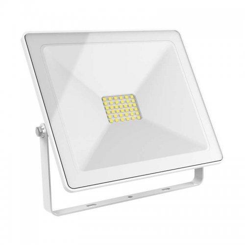 Прожектор светодиодный Elementary 50Вт 3500лм IP65 6500К бел. Gauss 613120350