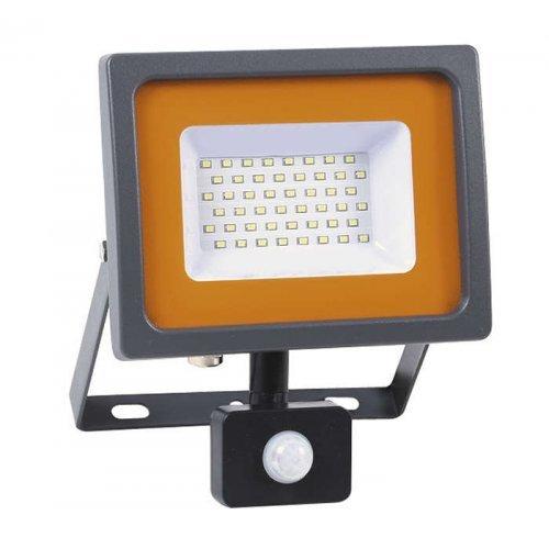 Прожектор PFL-SC-SMD-30Вт sensor LED 30Вт IP54 6500К мат. стекло JazzWay 5001411