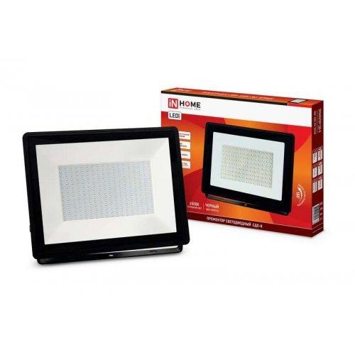 Прожектор СДО-8 LED 200Вт 230В 6500К 18000Лм IP65 IN HOME 4690612030081